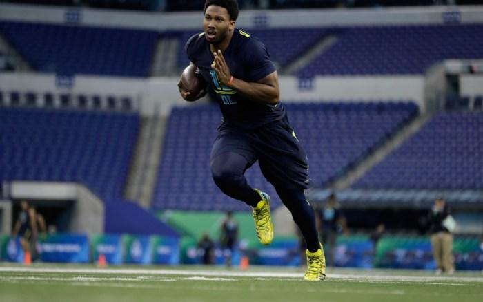 Texas A&M defensive end Myles Garrett NFL Combine Adidas