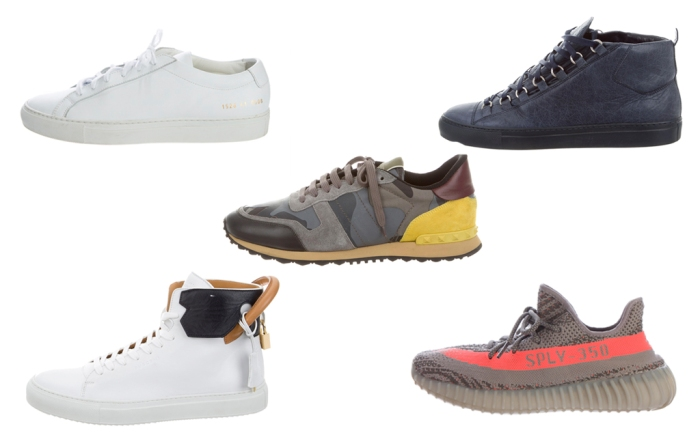 TheRealReal's Best Selling Men's Sneakers