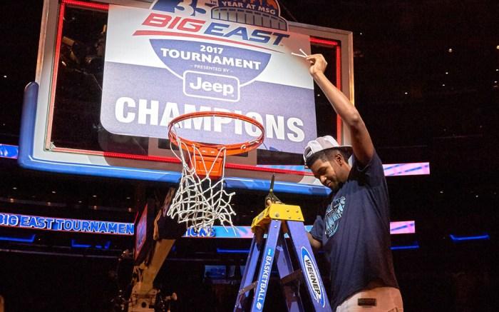 Villanova Kris Jenkins Big East Tournament Championship