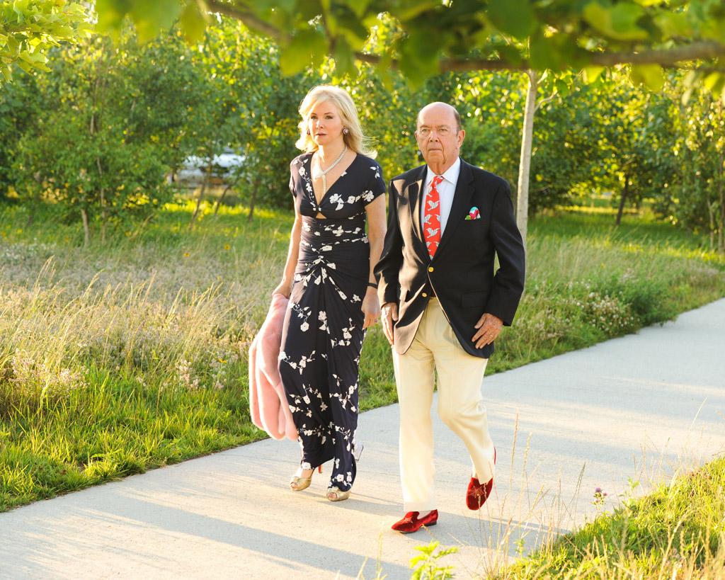 Hilary Geary wilbur ross slippers