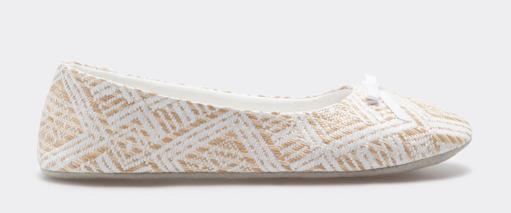 zara home slippers