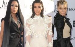 fergie nicki minaj kim kardashian 2017