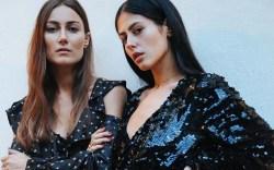 Attico designers, Gilda Ambrosio and Giorgia