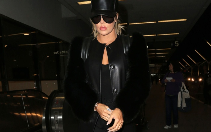 Photo by: GOTPAP/STAR MAX/IPx20173/31/17Khloe Kardashian is seen at Los Angeles International Airport (LAX).(Los Angeles, CA)