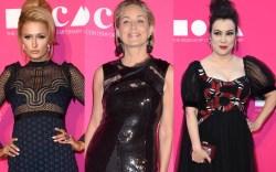 Paris Hilton, Sharon Stone and Jennifer