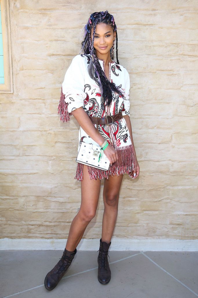 Chanel Iman Coachella