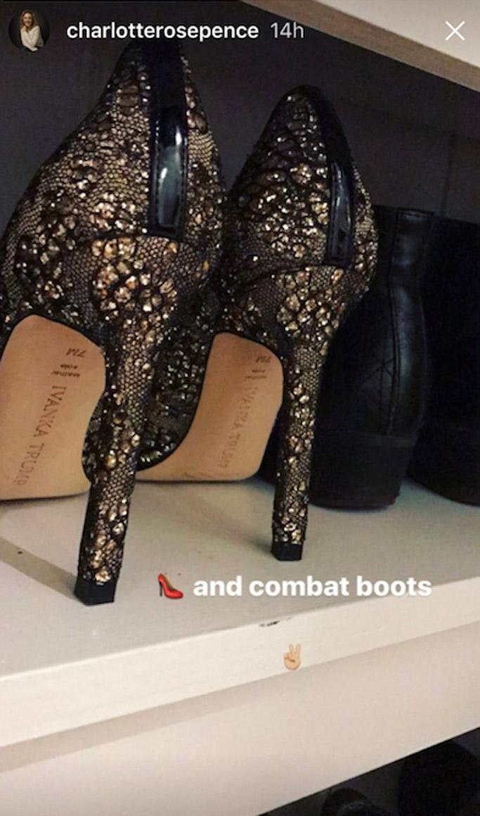 Ivanka Trump carra shoes pumps charlotte pence