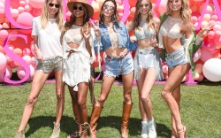 victorias secret angels models parties coachella