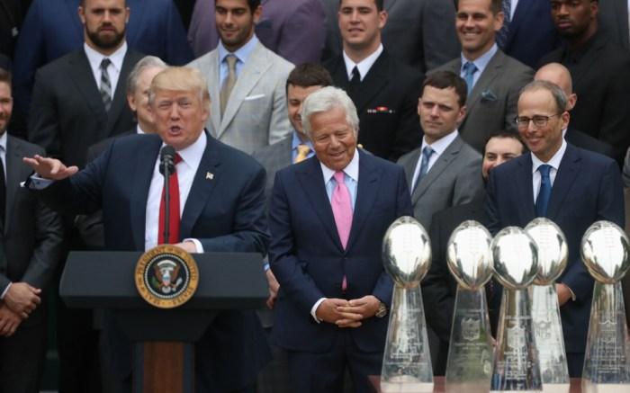 Patriots White House