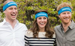 Kate Middleton & Princes William and