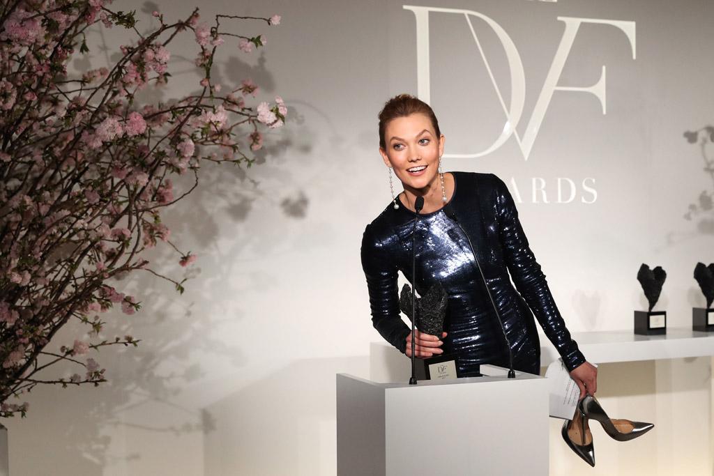 Karlie Kloss DVF Awards 2017