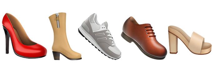 emojis stilettos boots sneakers