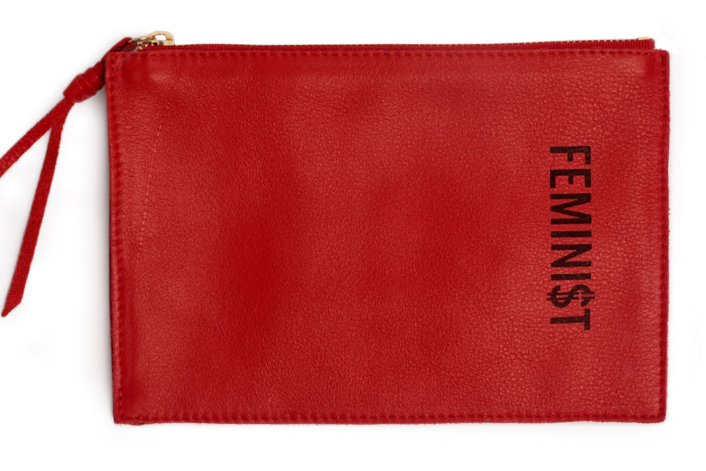 feminist pouch fashionable