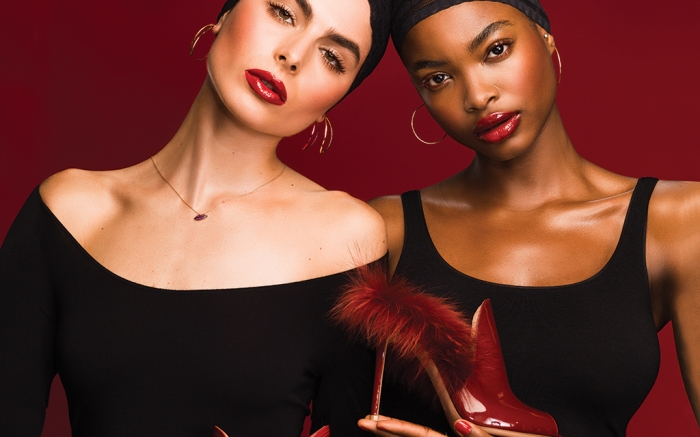 Models Sofia Stitchkin and Nneoma Anosike