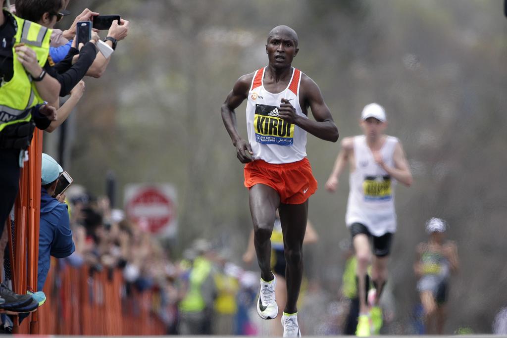 Geoffrey Kirui Boston Marathon Nike