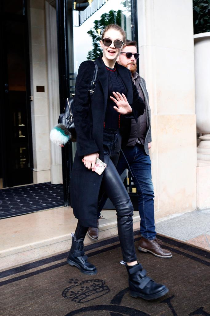 Gigi Hadid Is Still Wearing Her Wintry