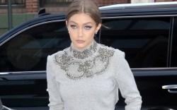 Gigi Hadid Crop Top Saint Laurent