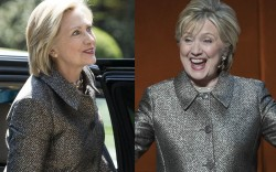 hillary clinton speech pantsuit women world