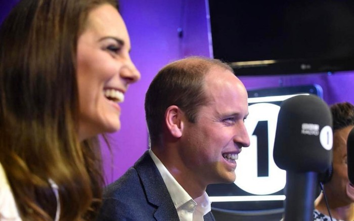 Kate Middleton prince william bbc radio 1 fashion style temperley london mental health
