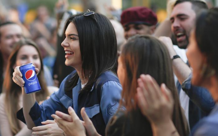 Kendall Jenner Pepsi Moments