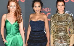 Darby Stanchfield Kerry Washington Bellamy Young