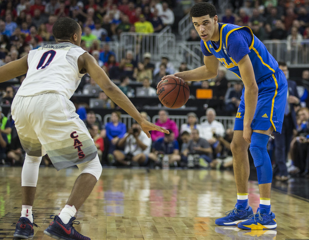 Lonzo Ball Adidas Crazylight Boost Low 2016