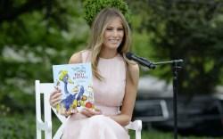 Melania Trump Easter