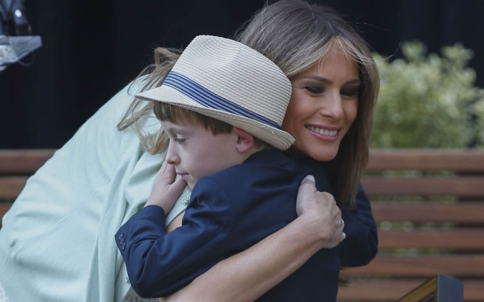 Melania Trump Style: Children's National Hospital Visit