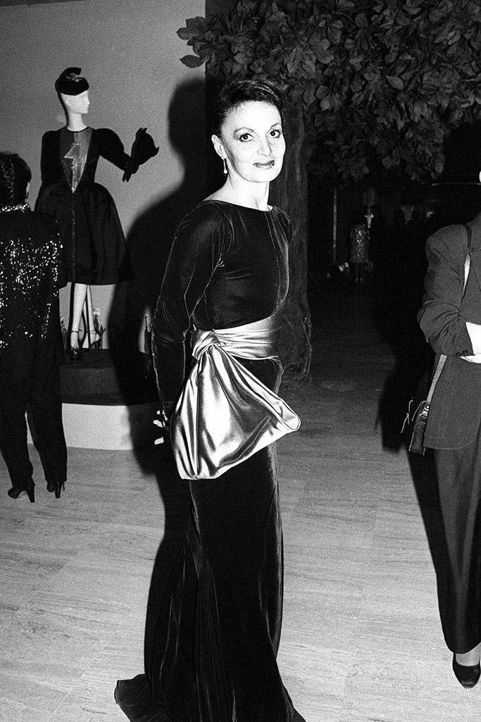 Diane von Furstenberg Met Gala 1983