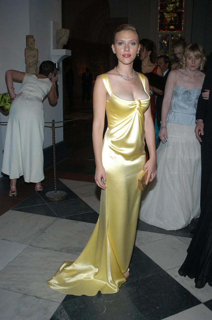 Scarlett Johansson Met Gala 2004