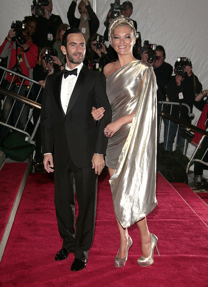 Kate Moss Marc Jacobs Met Gala 2009