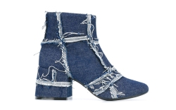 MM6 maison margiela denim boot