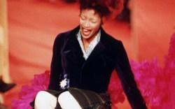 Naomi Campbell Vivienne Westwood fallings runway