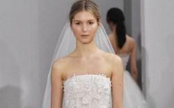 oscar de la renta bridal fashion