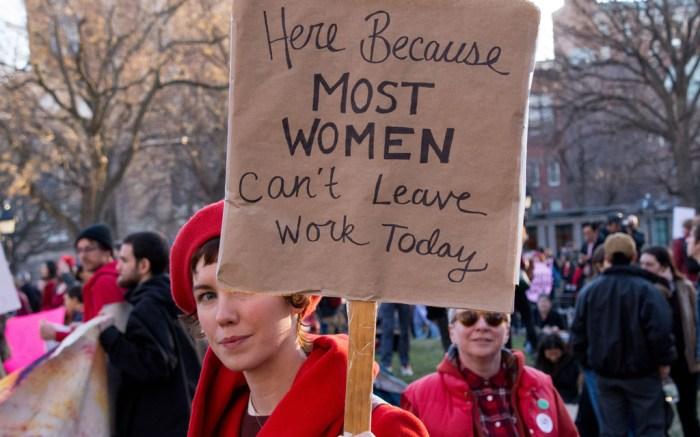 gender wage gap women's day