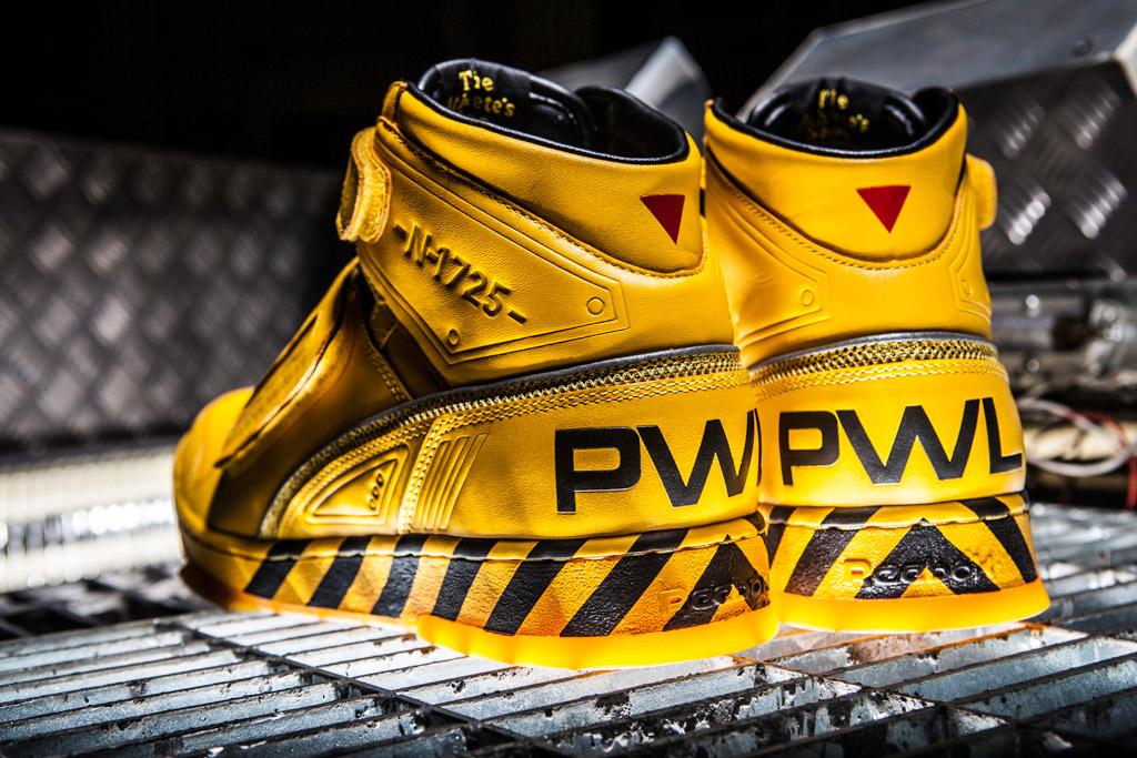 Reebok Alien Stomper final battle pack sneakers powerloader aliens sequel