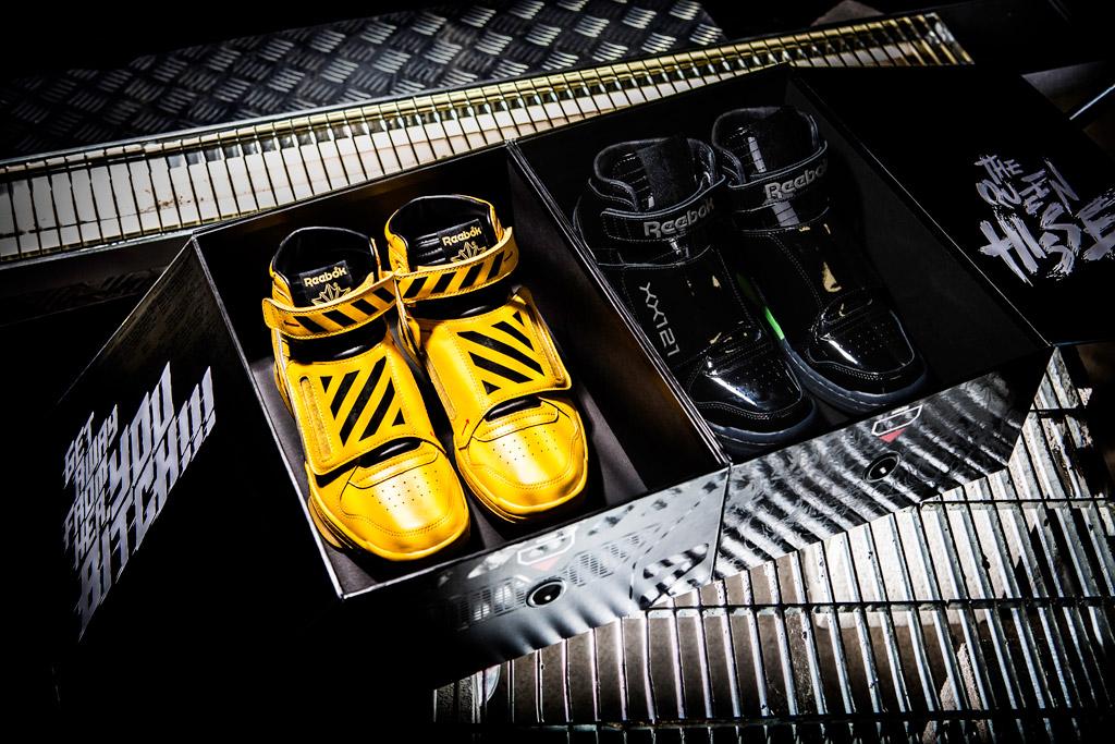 Reebok Alien Stomper final battle pack sneakers