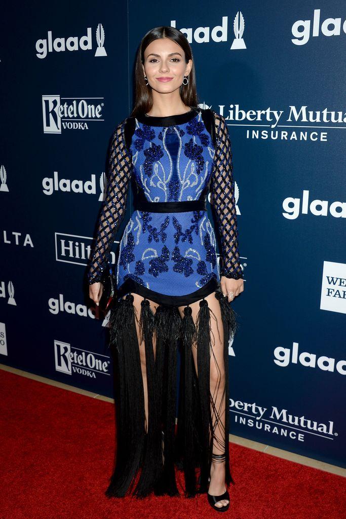 victoria justice GLAAD Media Awards