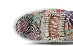 Roger Vivier crystal sneaker