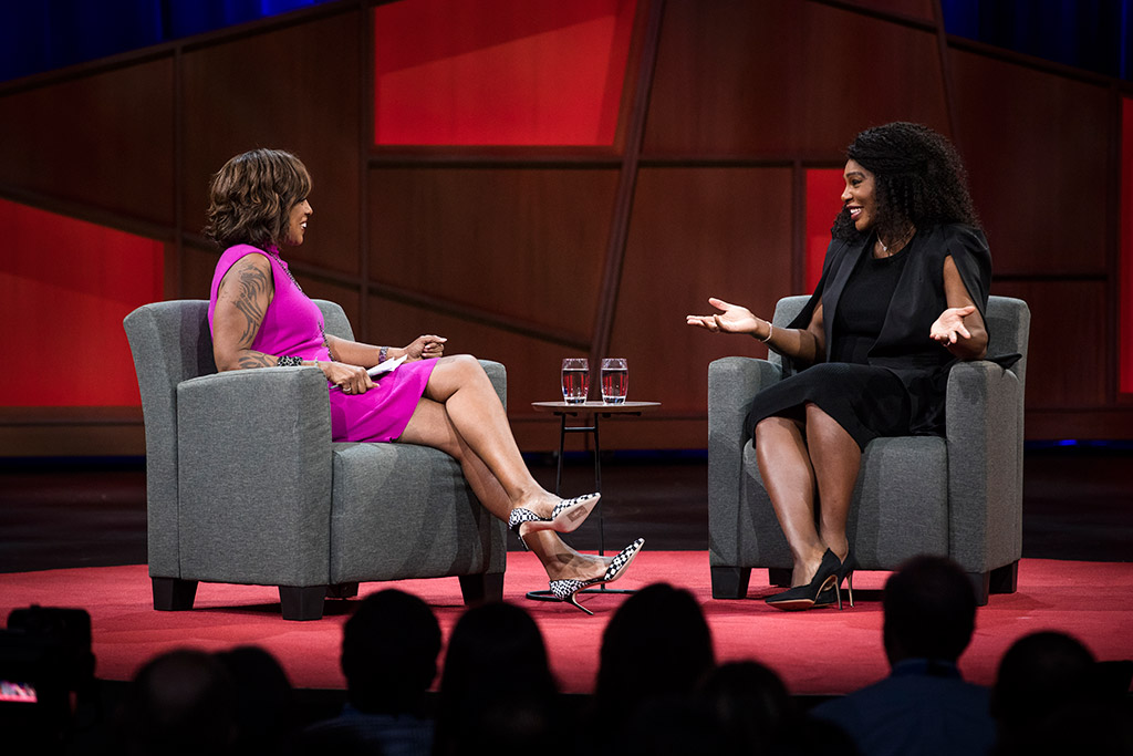 serena williams gayle king ted talk