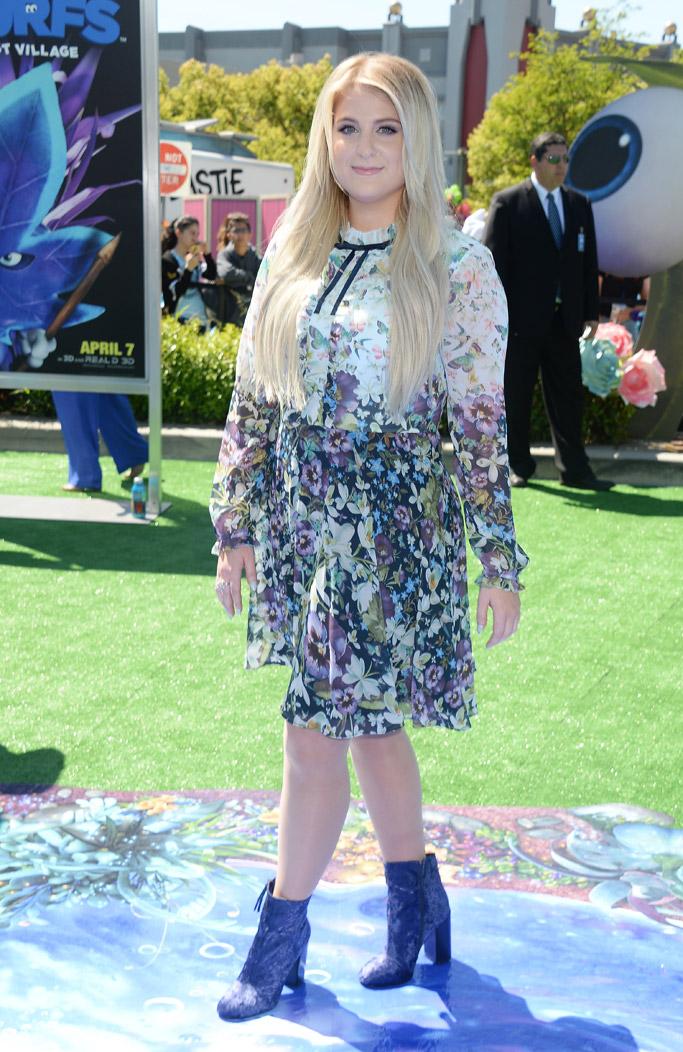 Meghan Trainor cast Smurfs Lost Village Premiere