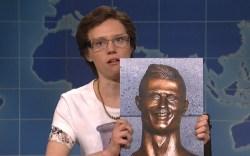 'SNL' Mocks Bronze Bust of Cristiano Ronaldo