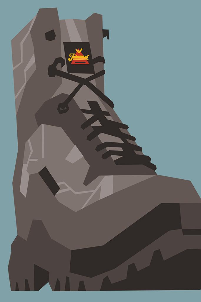 Weinbrenner Boot