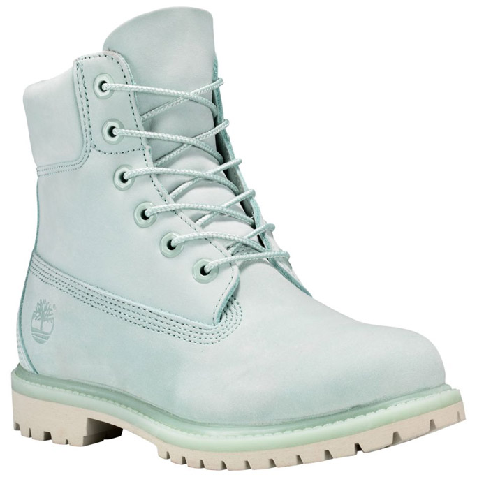 timberland mint green boots womens 6-inch classic