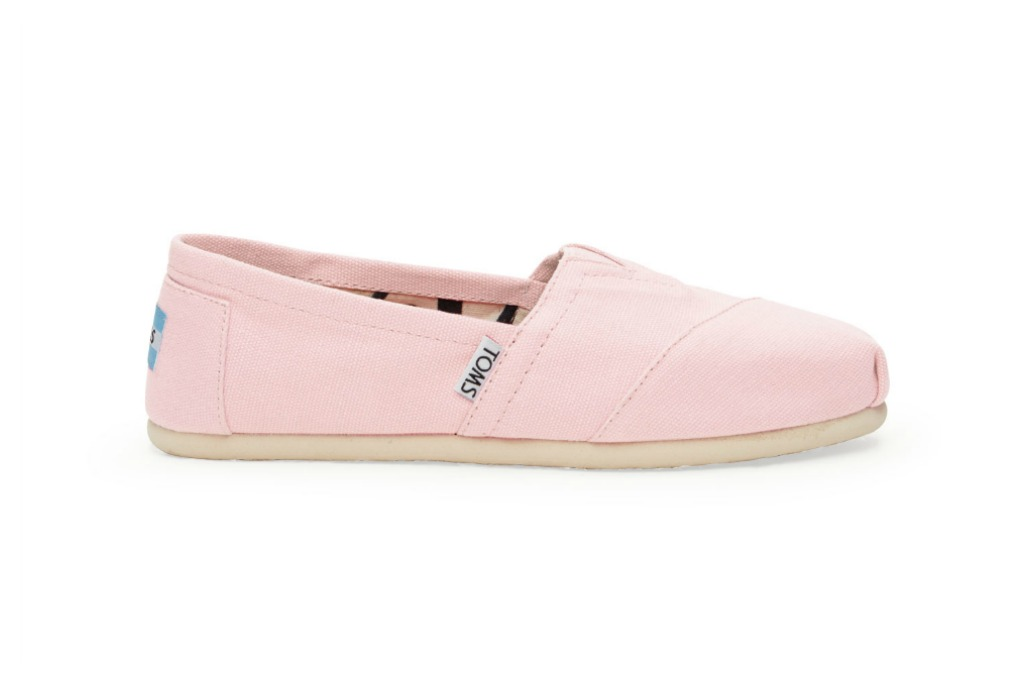Toms Pink Icing Women's Classic Canvas