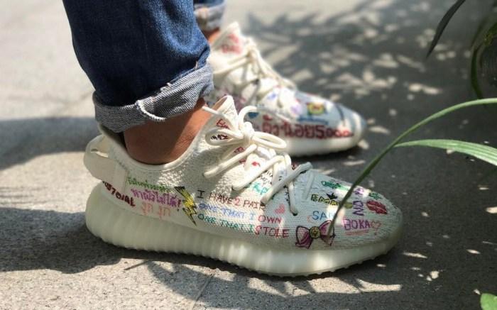 Customized Adidas Yeezy Boost 350 V2