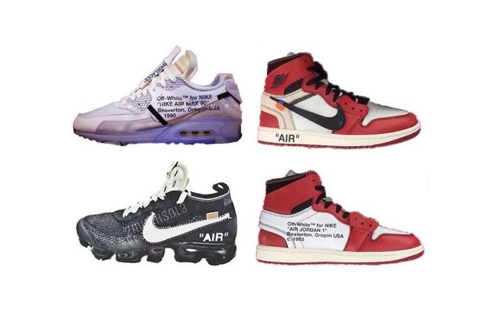 Off-White x Nike x Jordan Brand