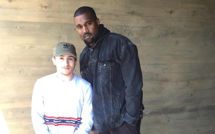 Kanye West and Fan