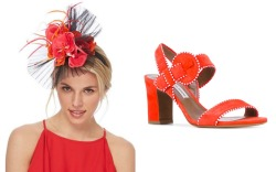 Matching Fascinators and Shoes for the Kentucky Derby
