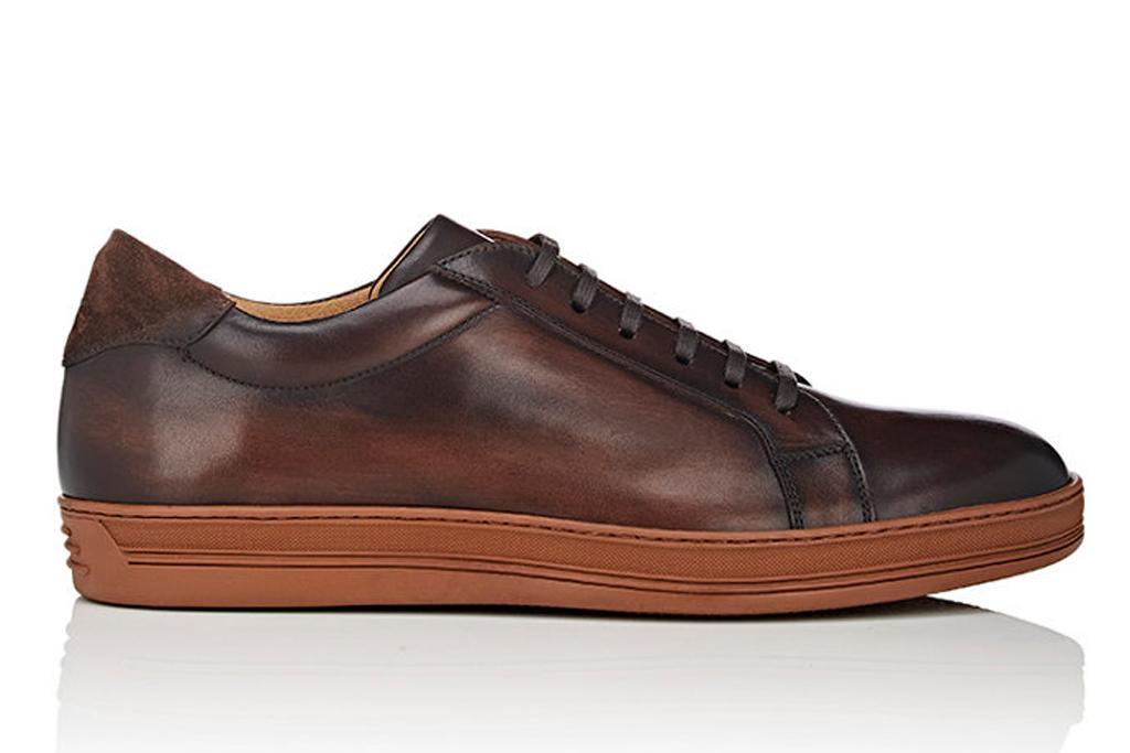 Barneys Burnished Leather